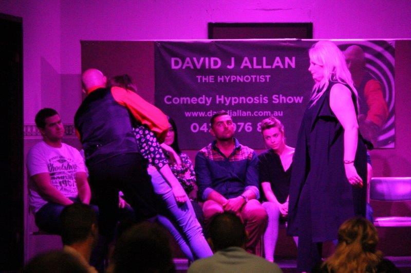Comedy Hypnotist Dave Allan